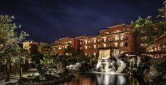 sheraton fuerteventura hotelgrounds night