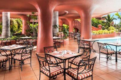 Sheraton La Caleta El Parador Restaurant Terrace