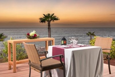 Sheraton La Caleta Romantic Outdoor Dinner