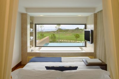 The Romanos Grand Infinity Suite Bedroom