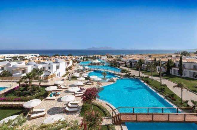 Mitsis Kos Bluedomes Hotel View