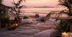 Resort Beach Sunset