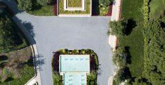 Sani Beach Aerial 03