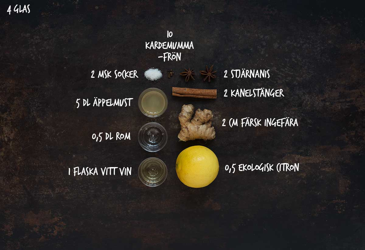 äppeljuice glögg recept