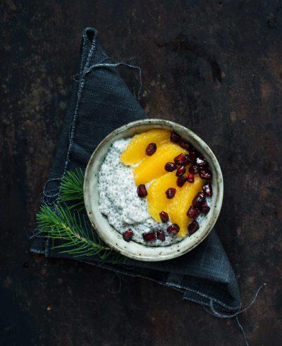 Recept: Chiagröt med julsmak | Frk. Kräsen