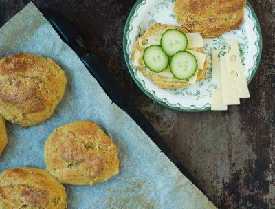 Recept: Kalljästa bullar med bönnor | Frk. Kräsen