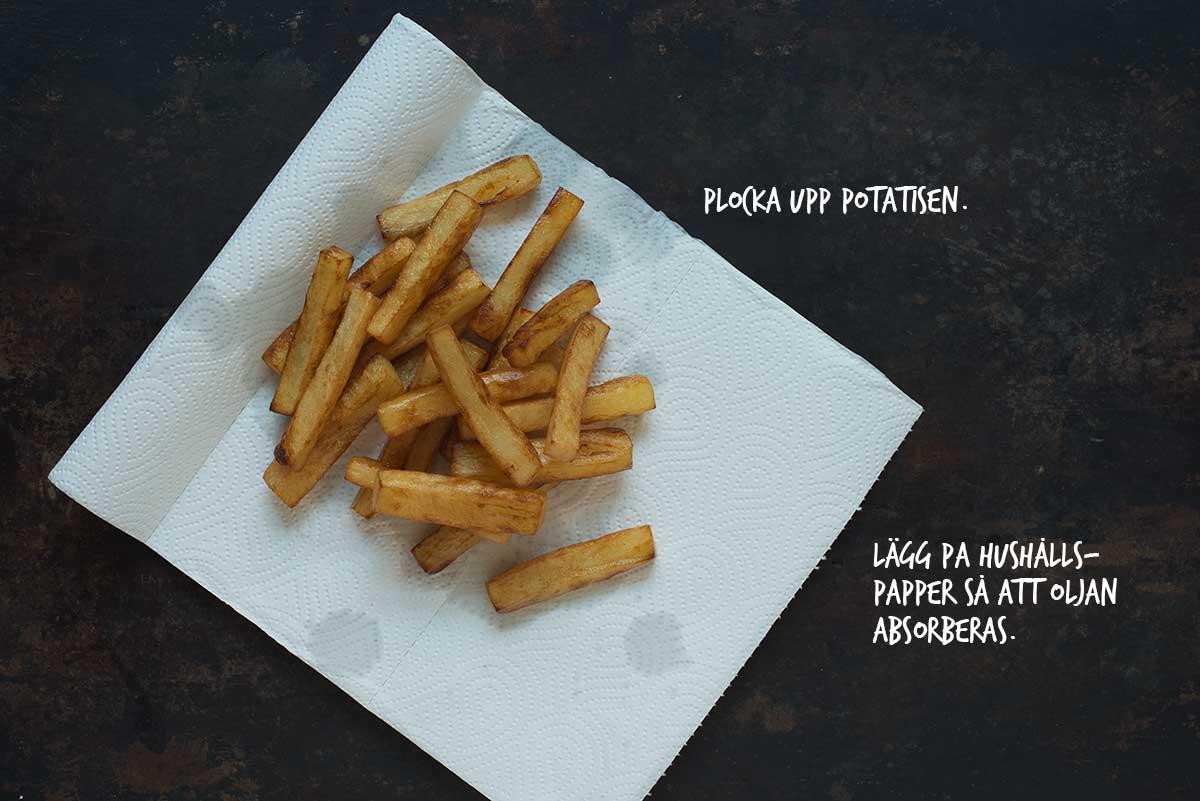 gör din egen pommes frites