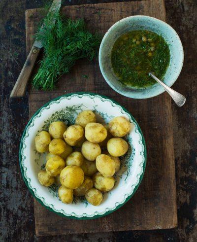 Recept: Färskpotatis med brynt smör | Frk. Kräsen