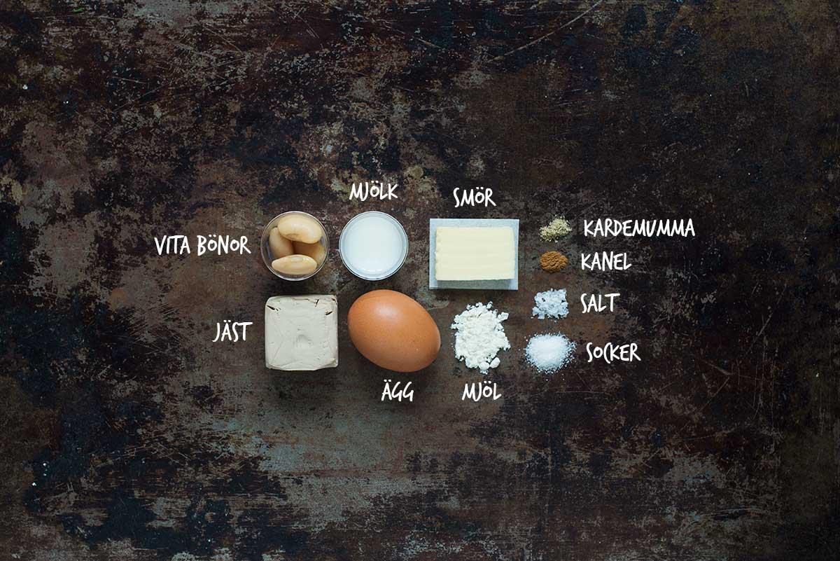 Recept: Kanelbullar med bönor | Frk. Kräsen