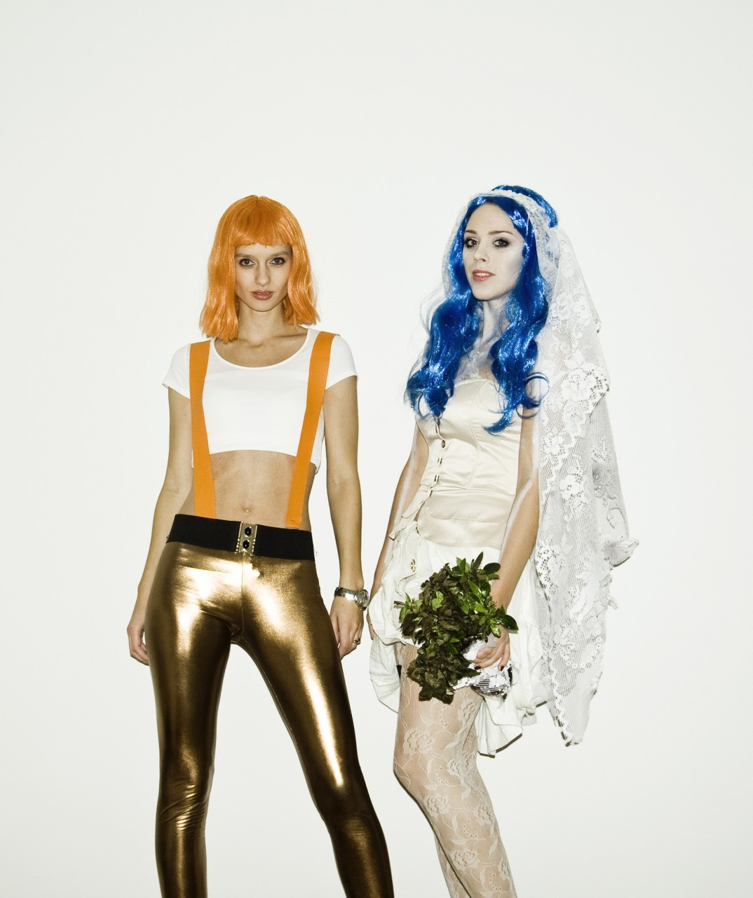 Leeloo Dallas, fifth element + Corpse Bride