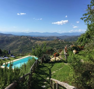 View from Villa Trotta