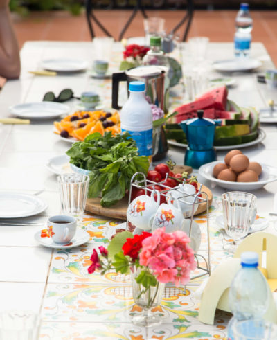 Villa Trotta breakfast