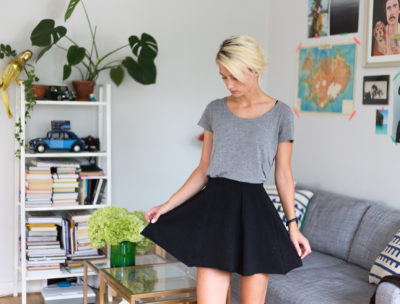 DIY Skirt - Dnilva