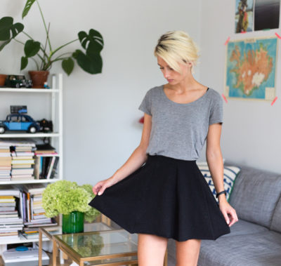 DIY Skirt - Dnilva