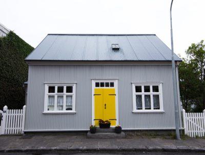Colorful house in Reykjavík