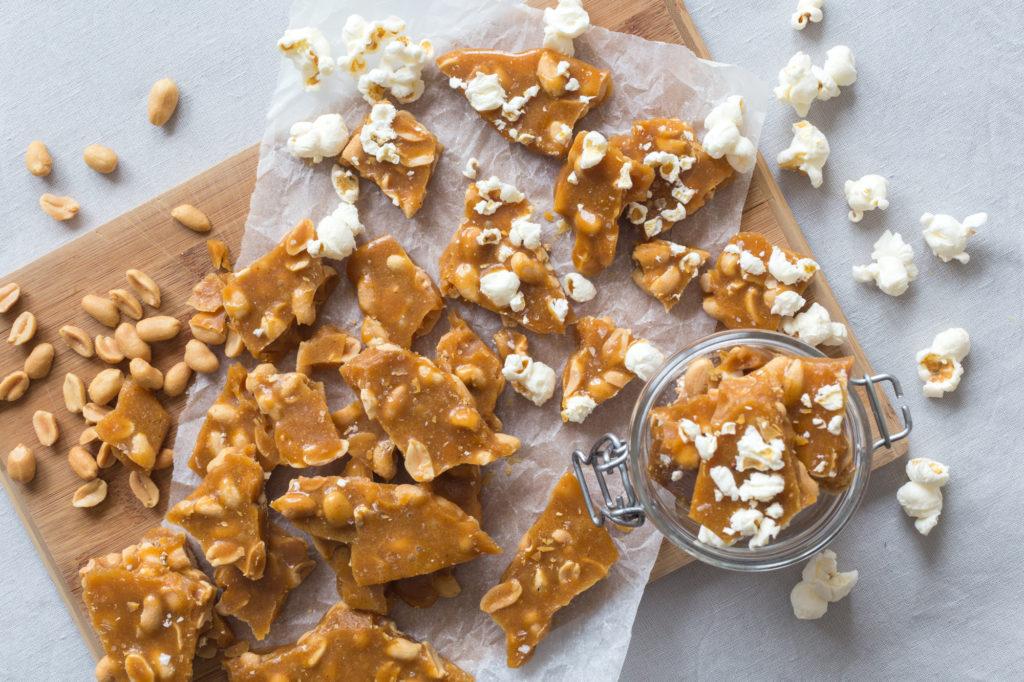 Popcorn peanut brittle | by Dnilva