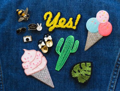 Awesome and stylish patches and pins to add to your jacket this spring