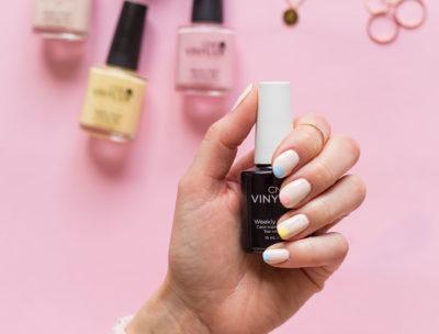 CND Pastel spring nail | Dnilva