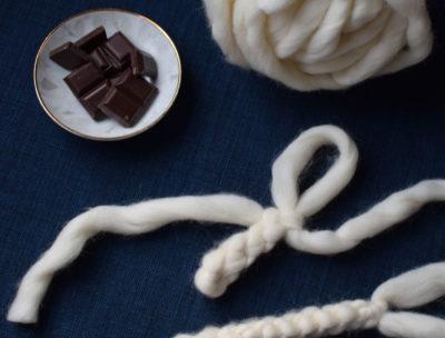 Påta med chunky wool