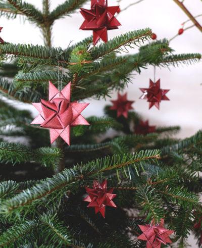 Julpyssel - Vika pappersstjärna