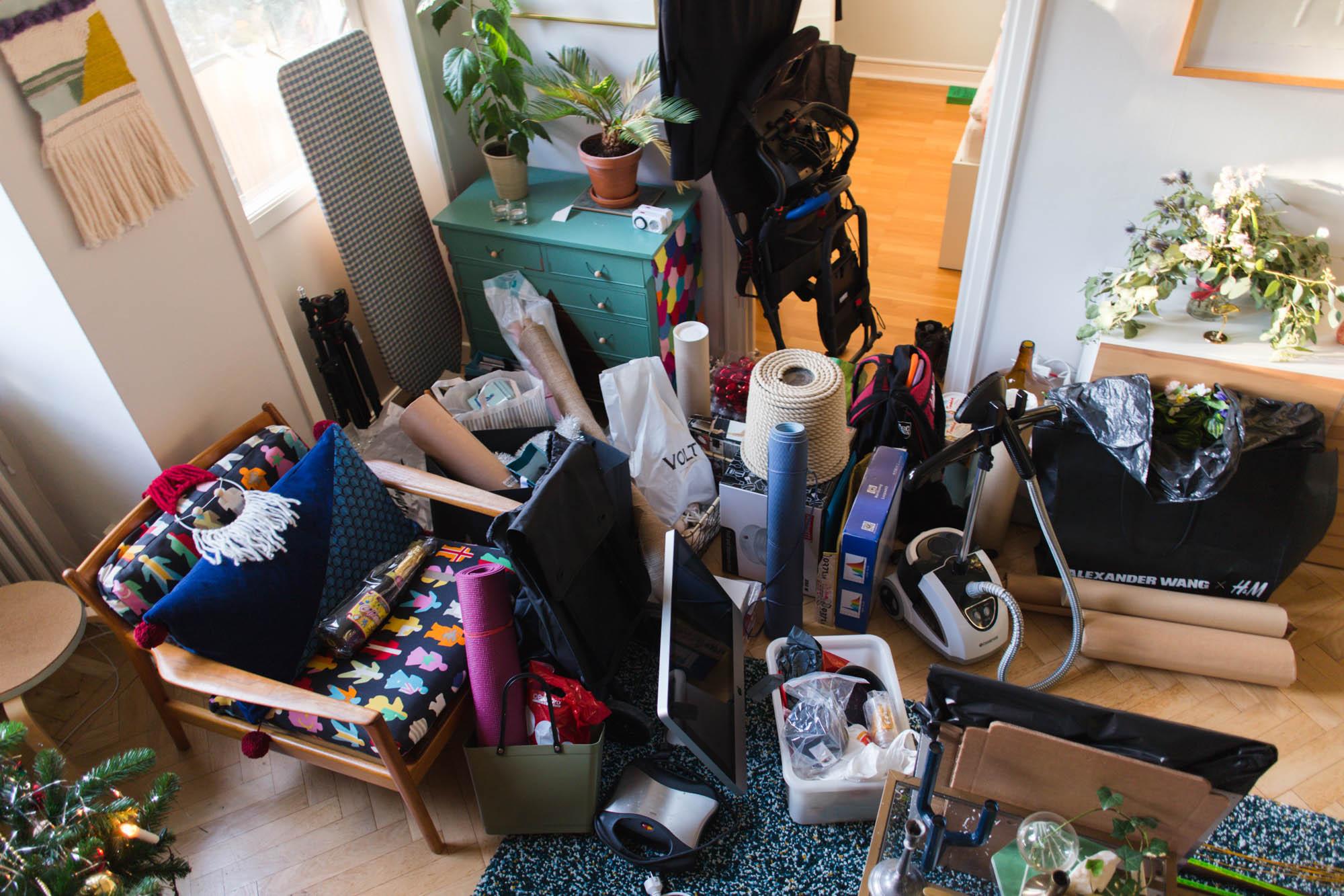 Rensa hemma - klädkammare och förråd