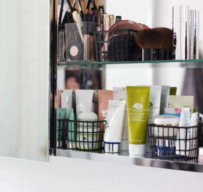 Smart förvaring i badrummet, physalis korgar