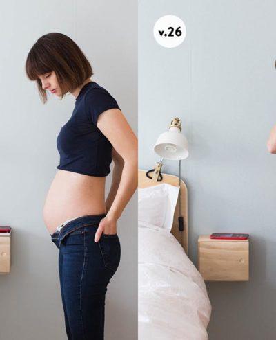Gravid magen v24 - v27
