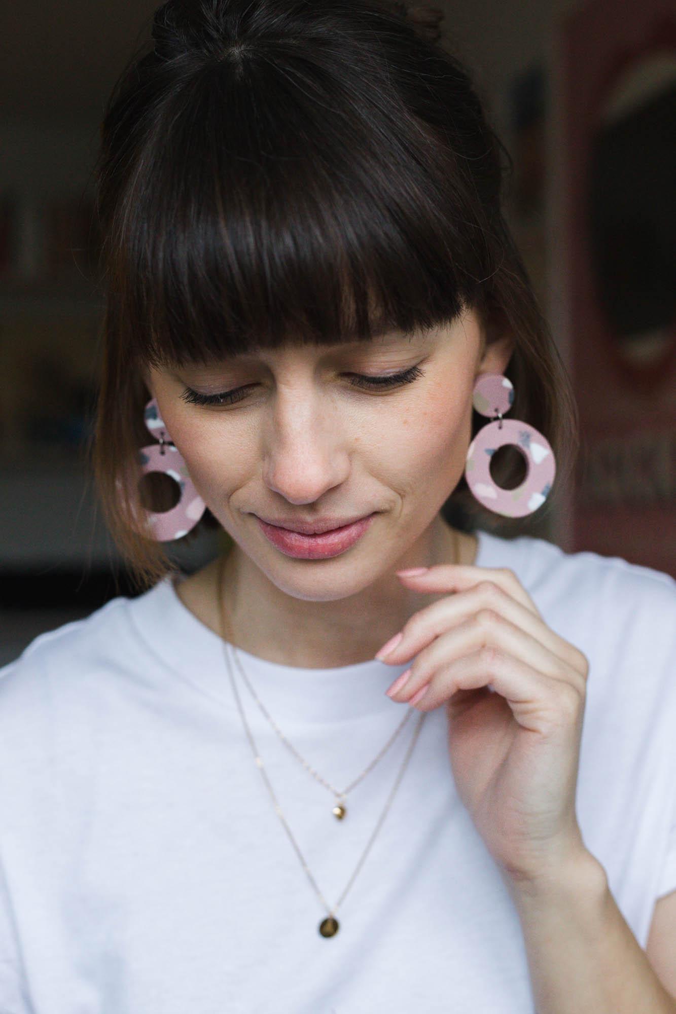 Terrazzo earrings - Dnilva