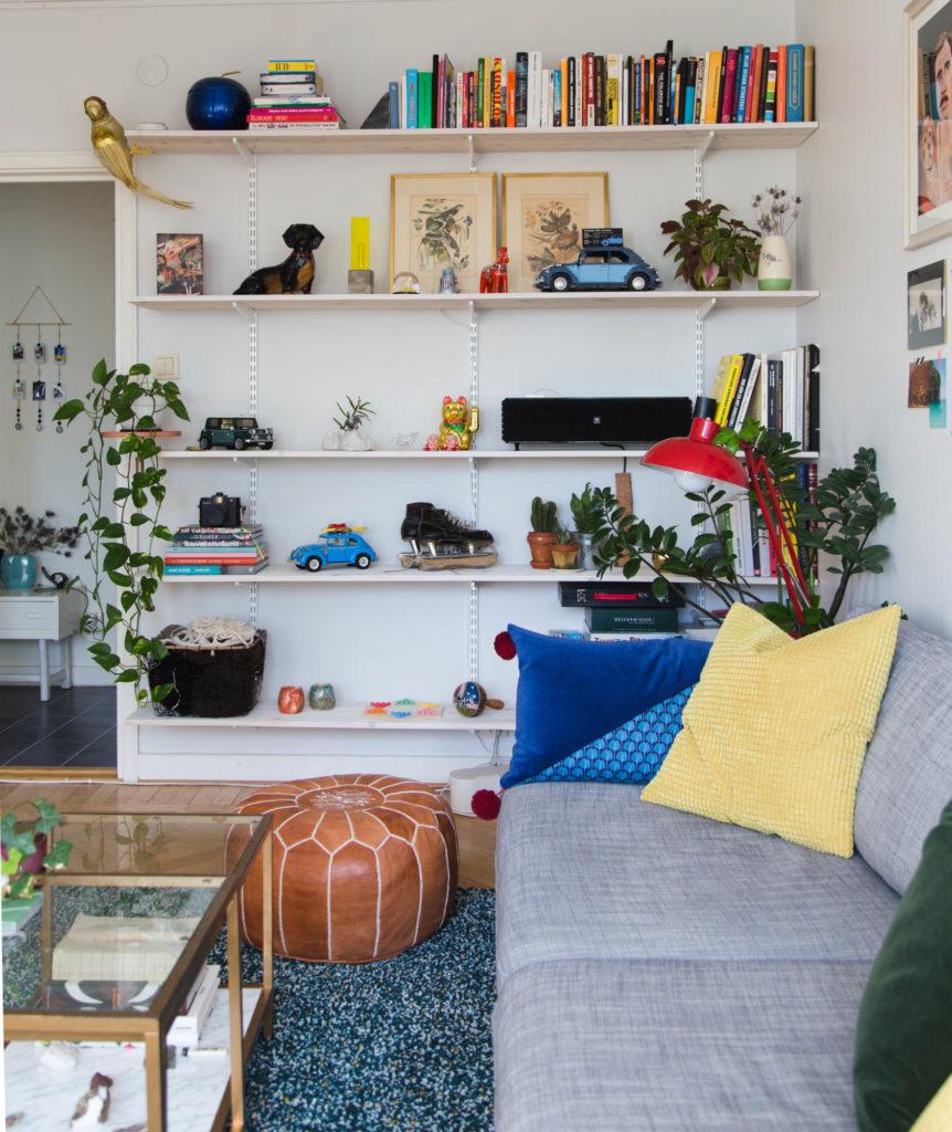 EFTER: Rensa hemma - Bokhyllor och skåp