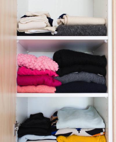 Rensa hemma - Garderoben