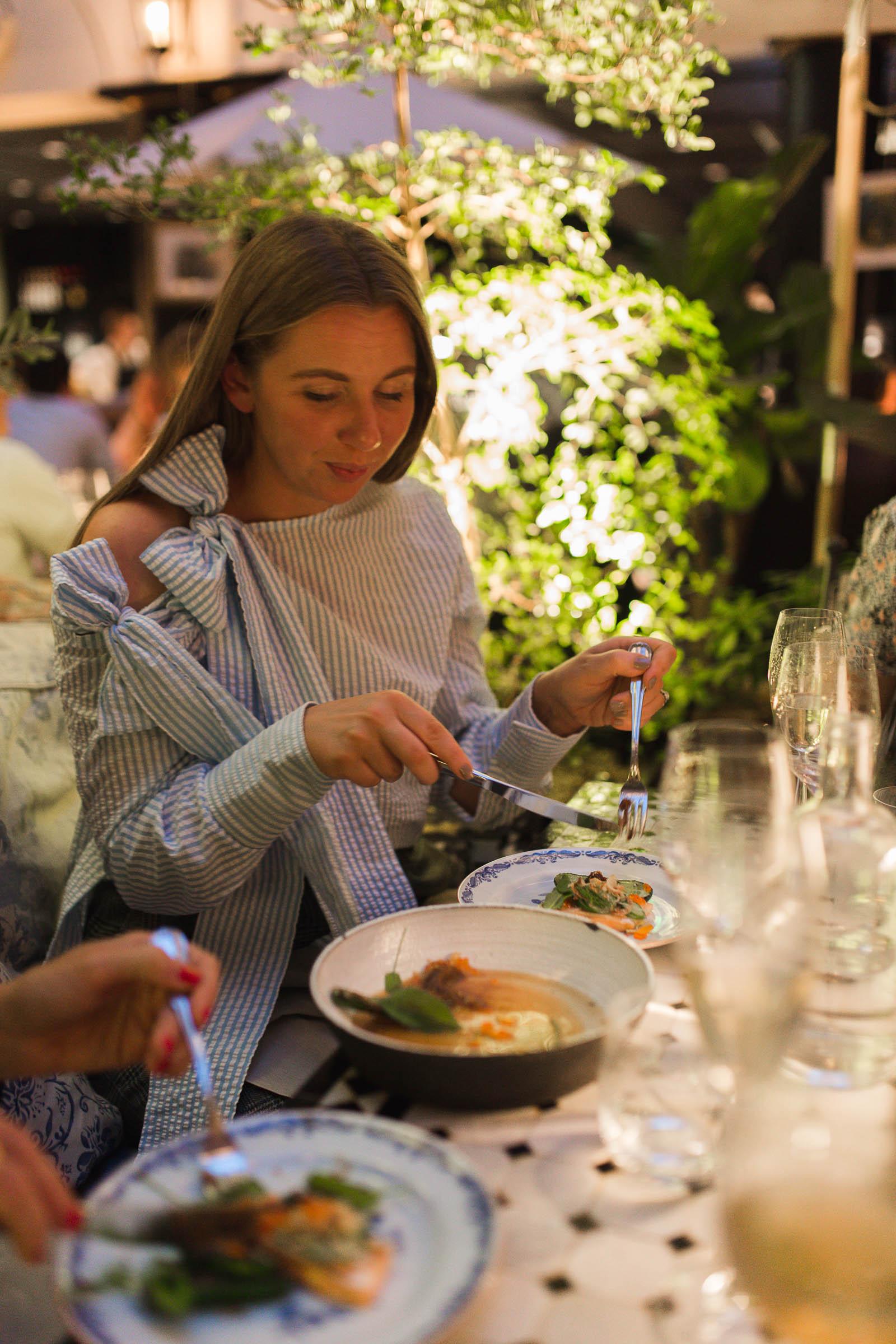 Middag på MJs i Malmö