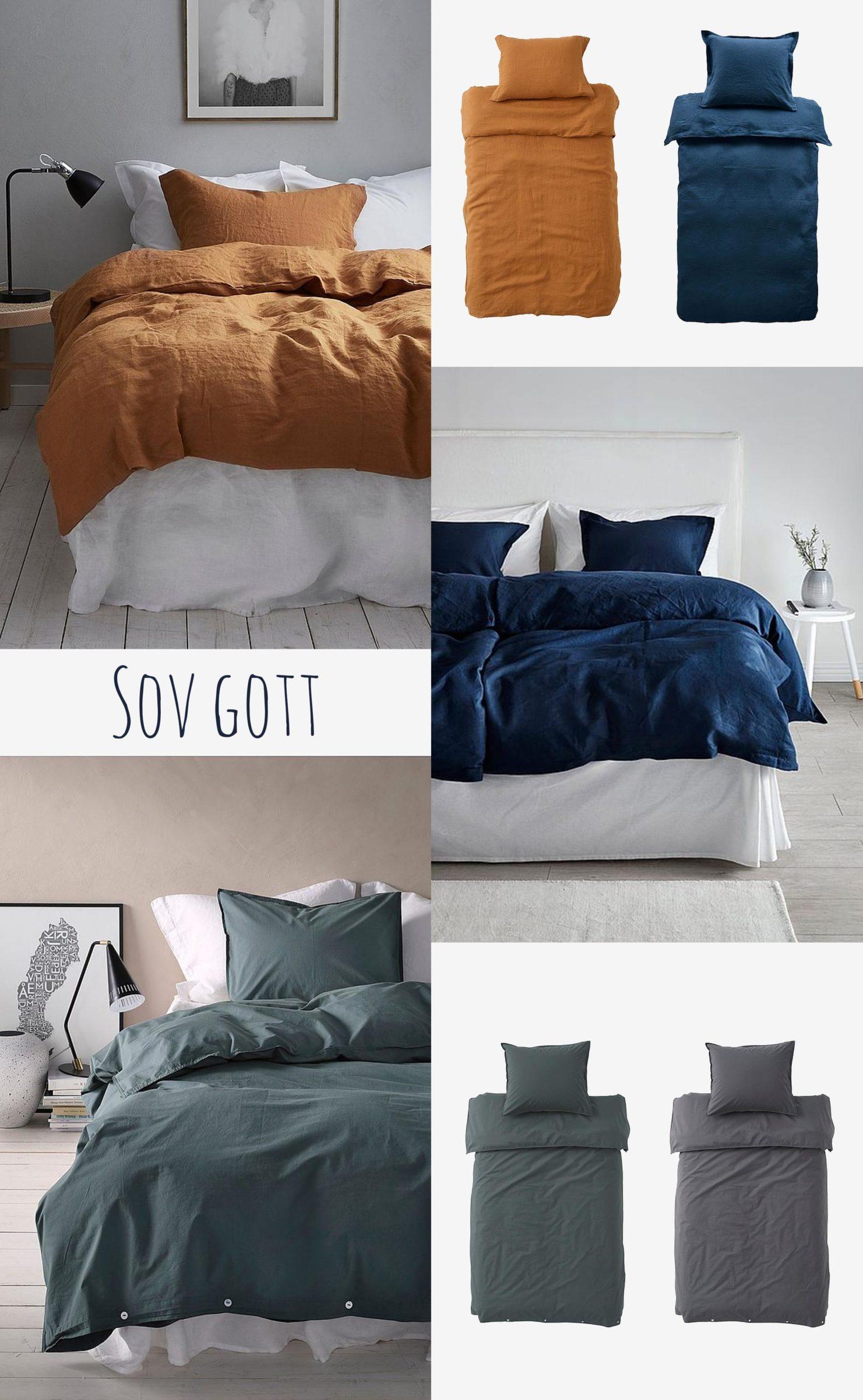 Bädda snyggt i sovrummet