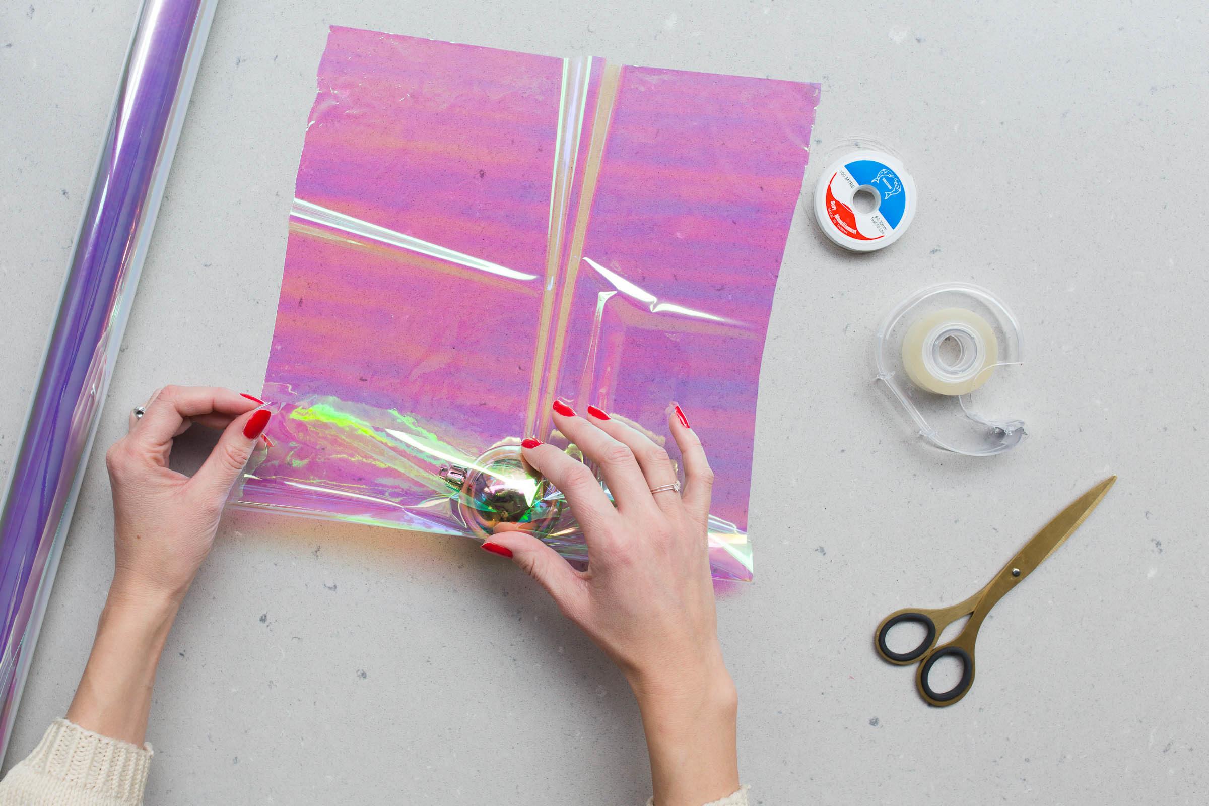 DIY Karamellkula av Anna María från Dessertmastarnas jul 2018