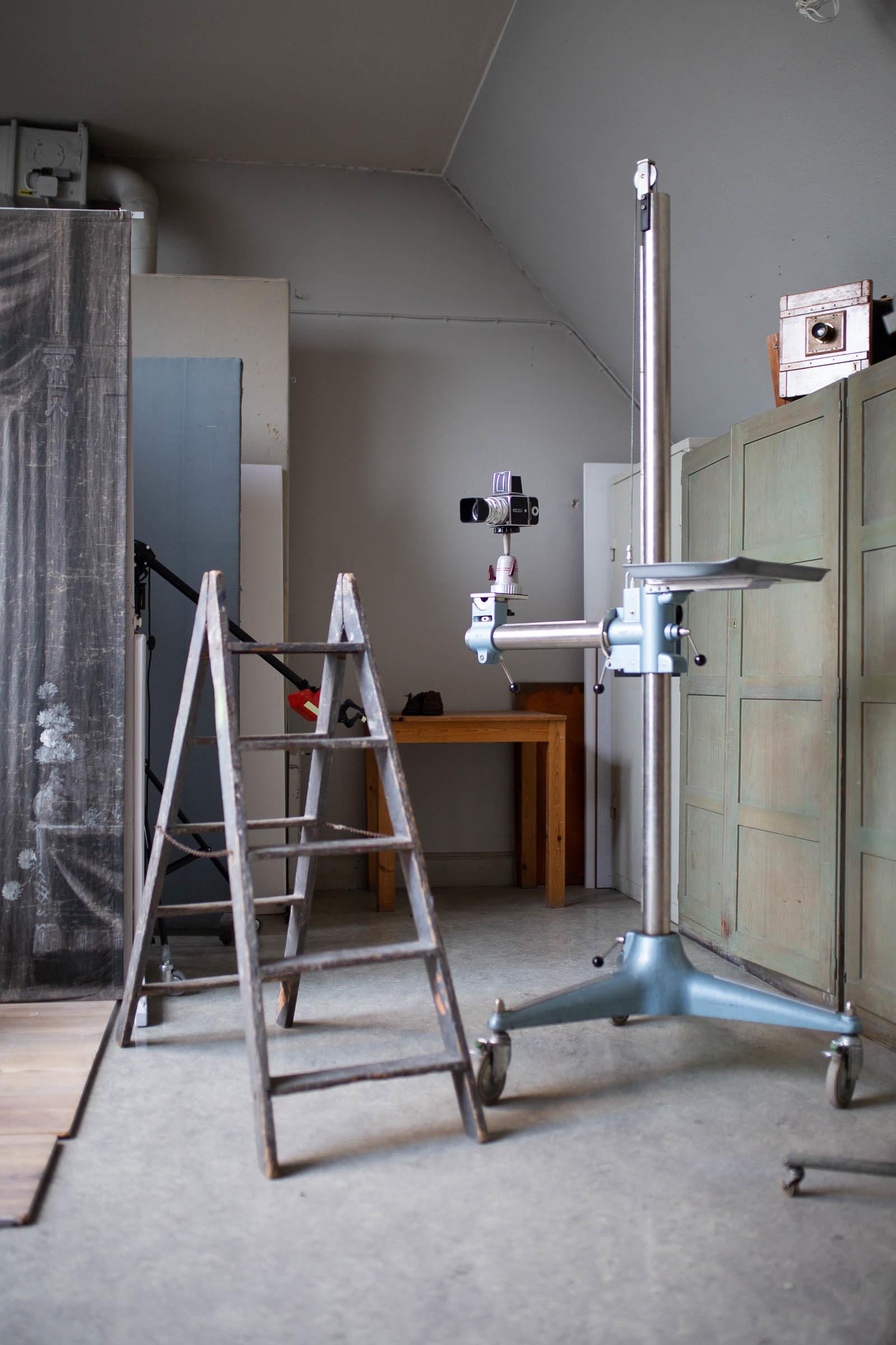 Fotostudion på Nordiska Museet Stockholm