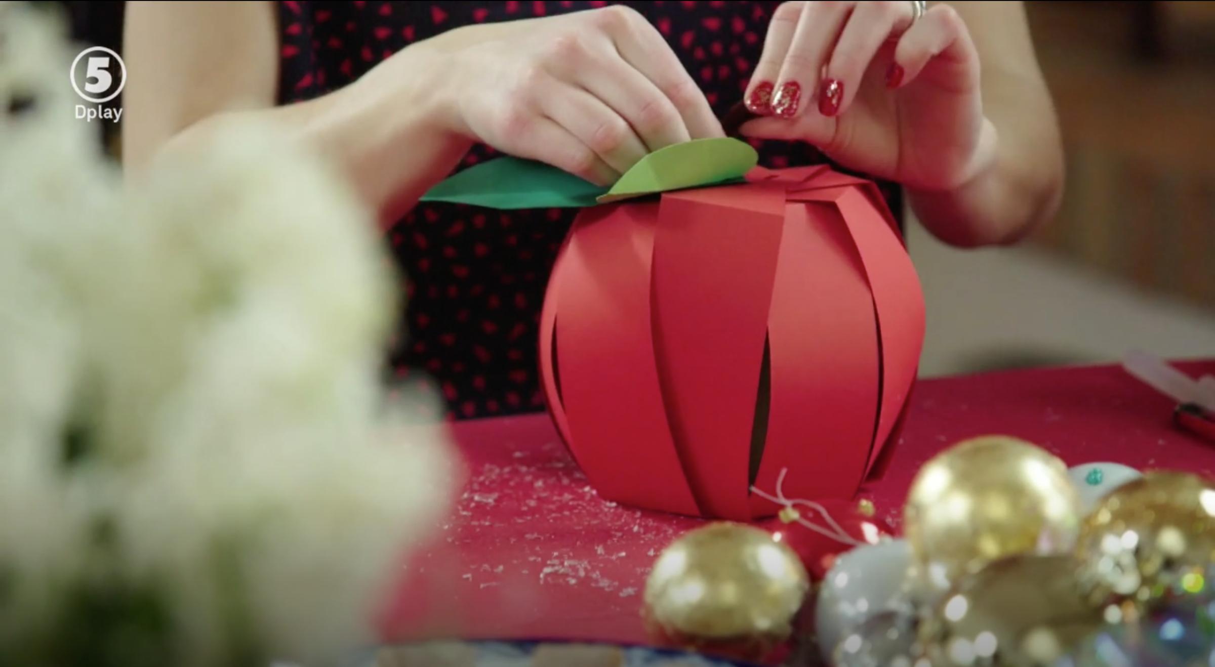 Dessertmästarnas jul - Anna Maria pysslar