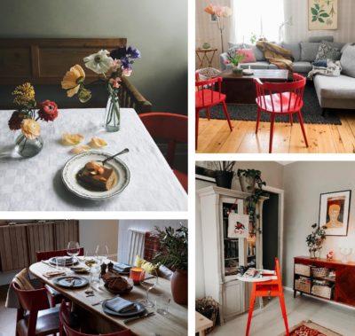 Den tomatröda stolen - Trend 2019