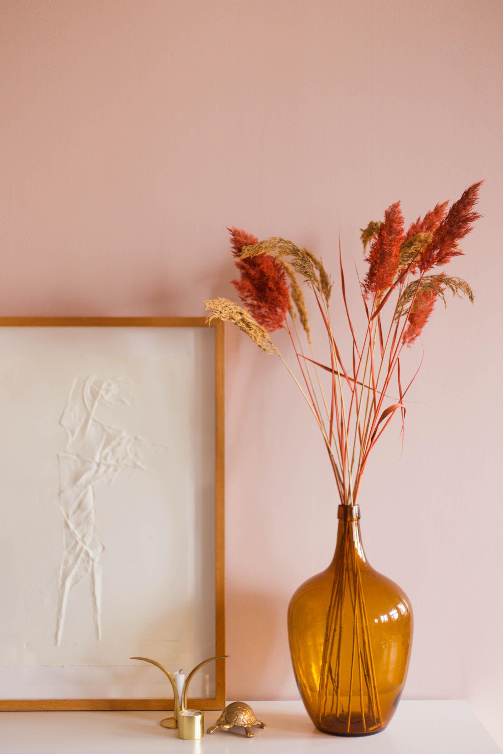Spraymåla torkade blommor - Dnilva