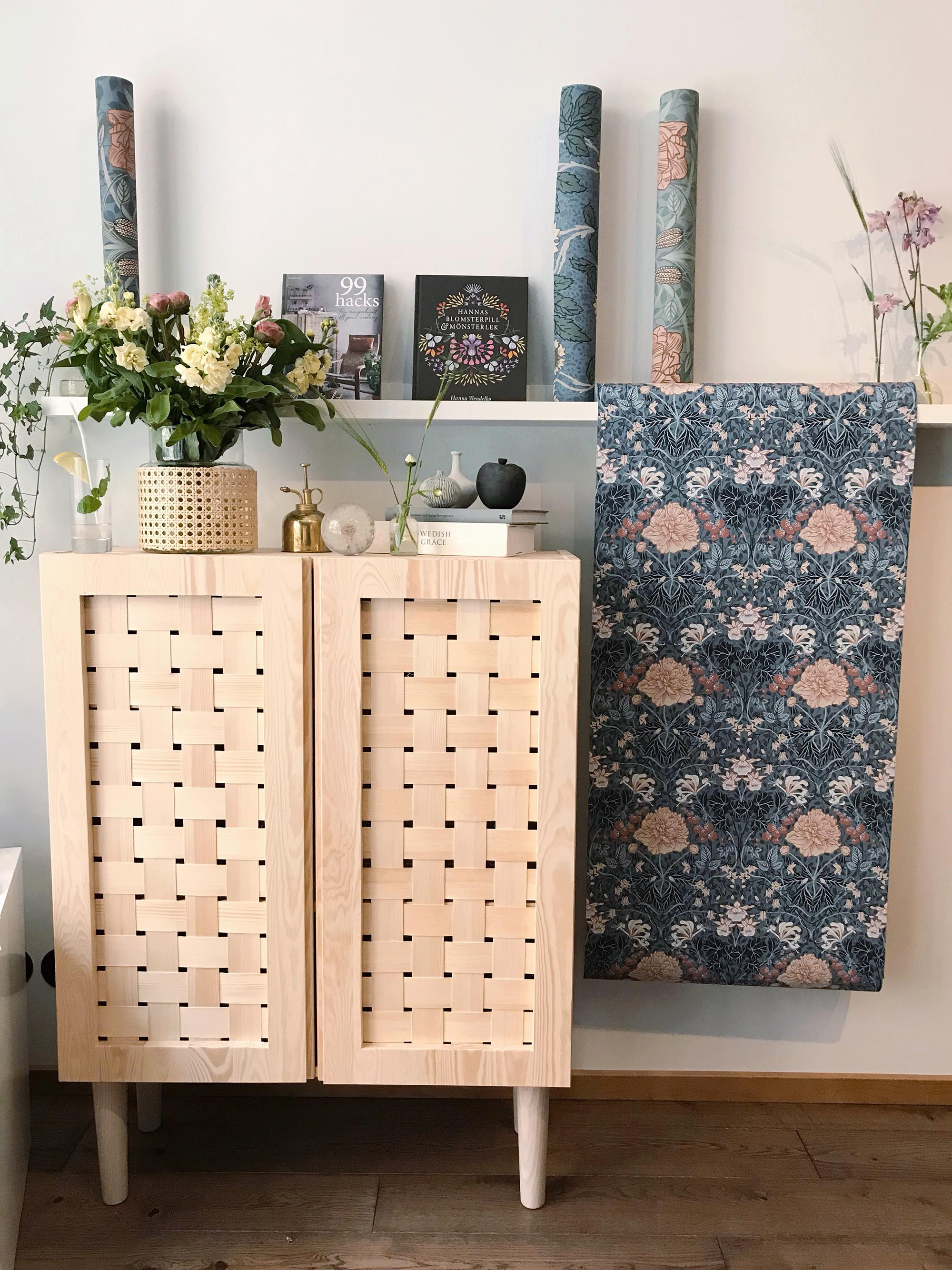 Bokrelease - 99 hacks + Hannas blomsterpill & mönsterlek