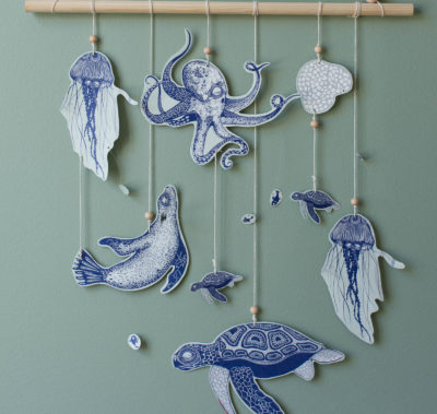 Wallhanging for kids room by Dnilva