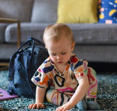 Edda börjar förskolan