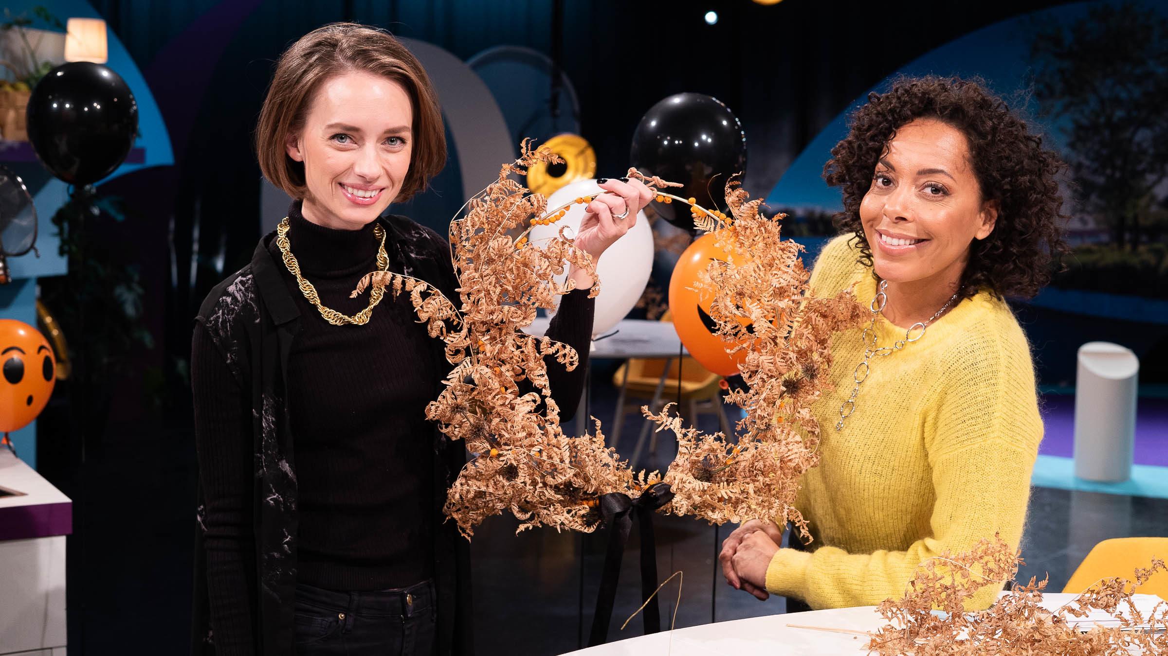 Go'kväll Halloween Anna María Larsson & Pia Herrera