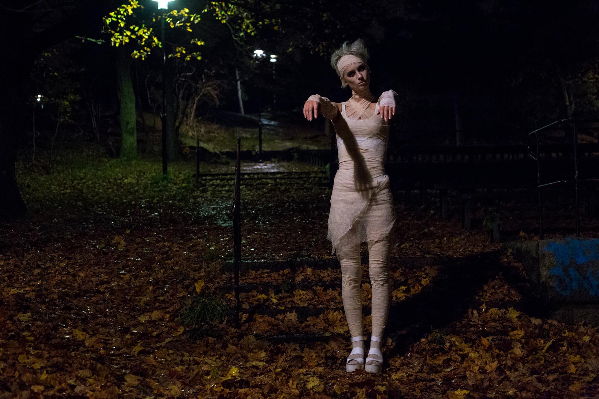 Halloween mumie - Dnilva