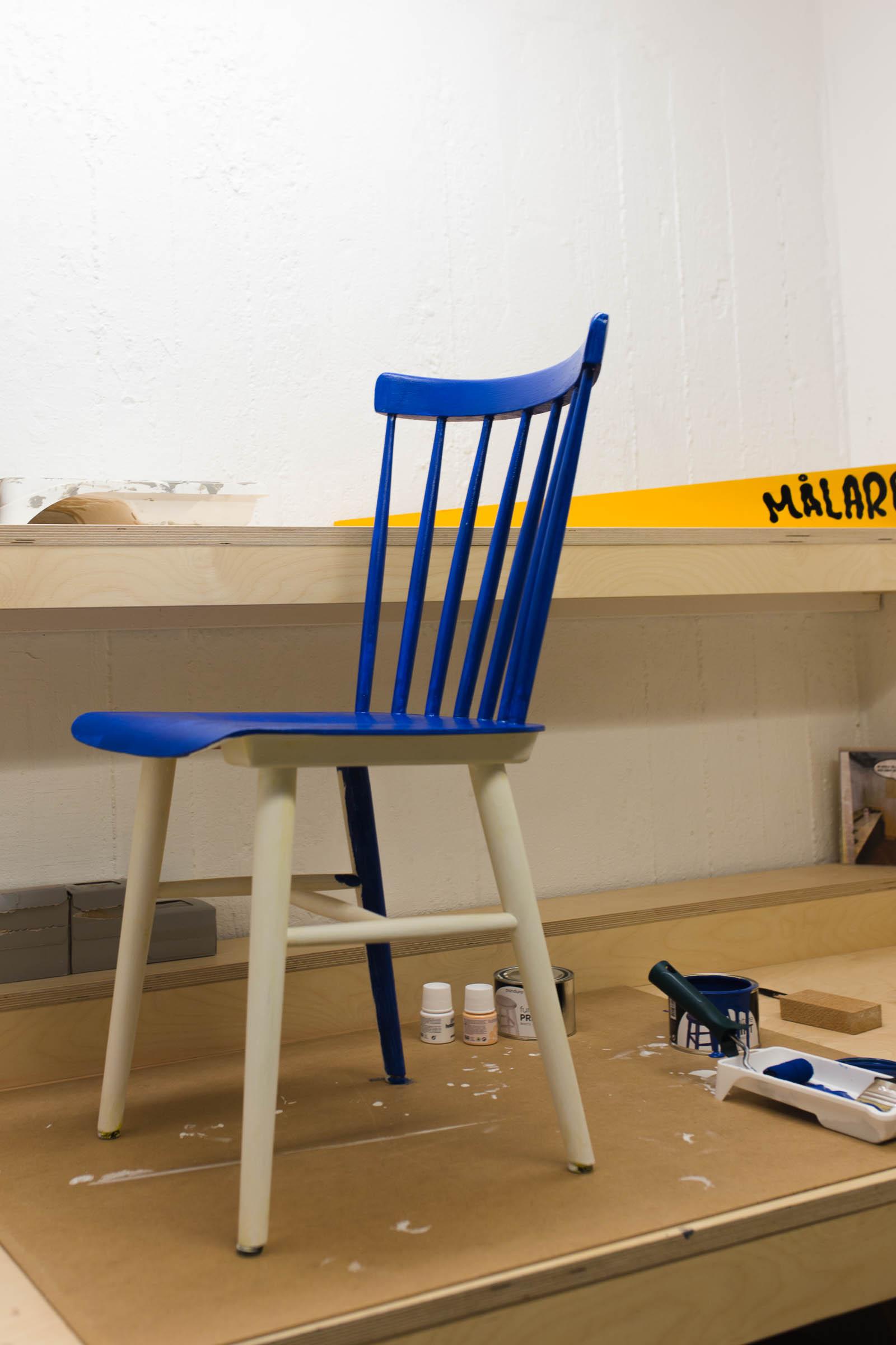 Måla om en stol - Dnilva