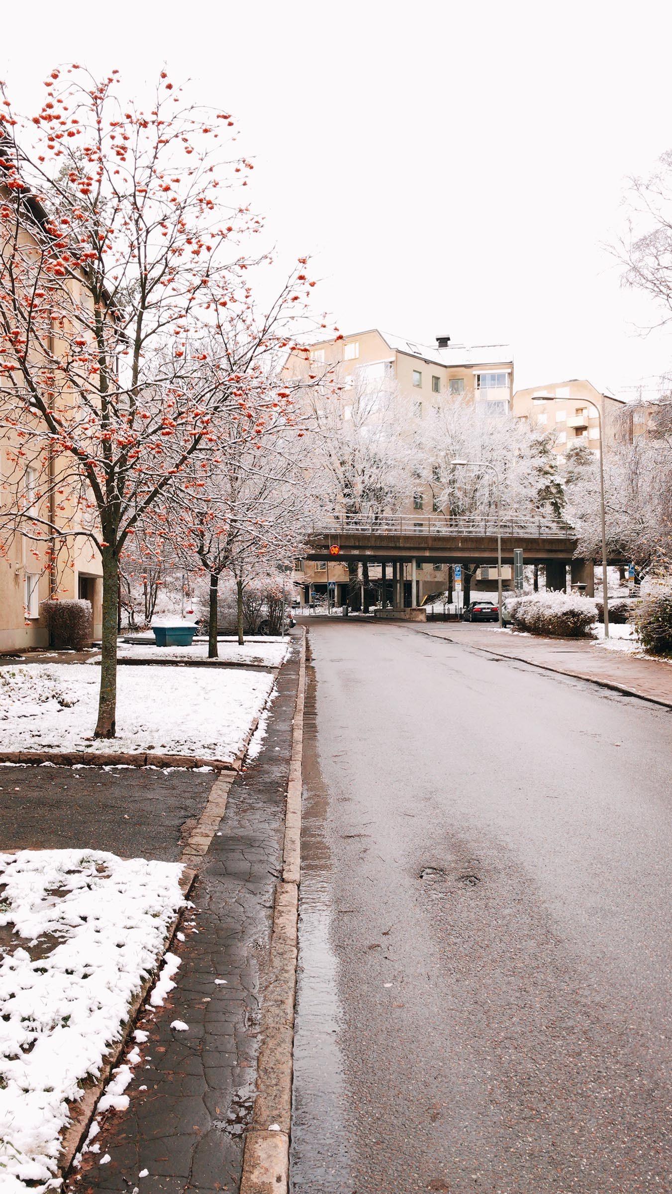 Sveriges smalaste trottoar