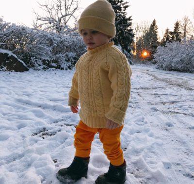 Edda i snö