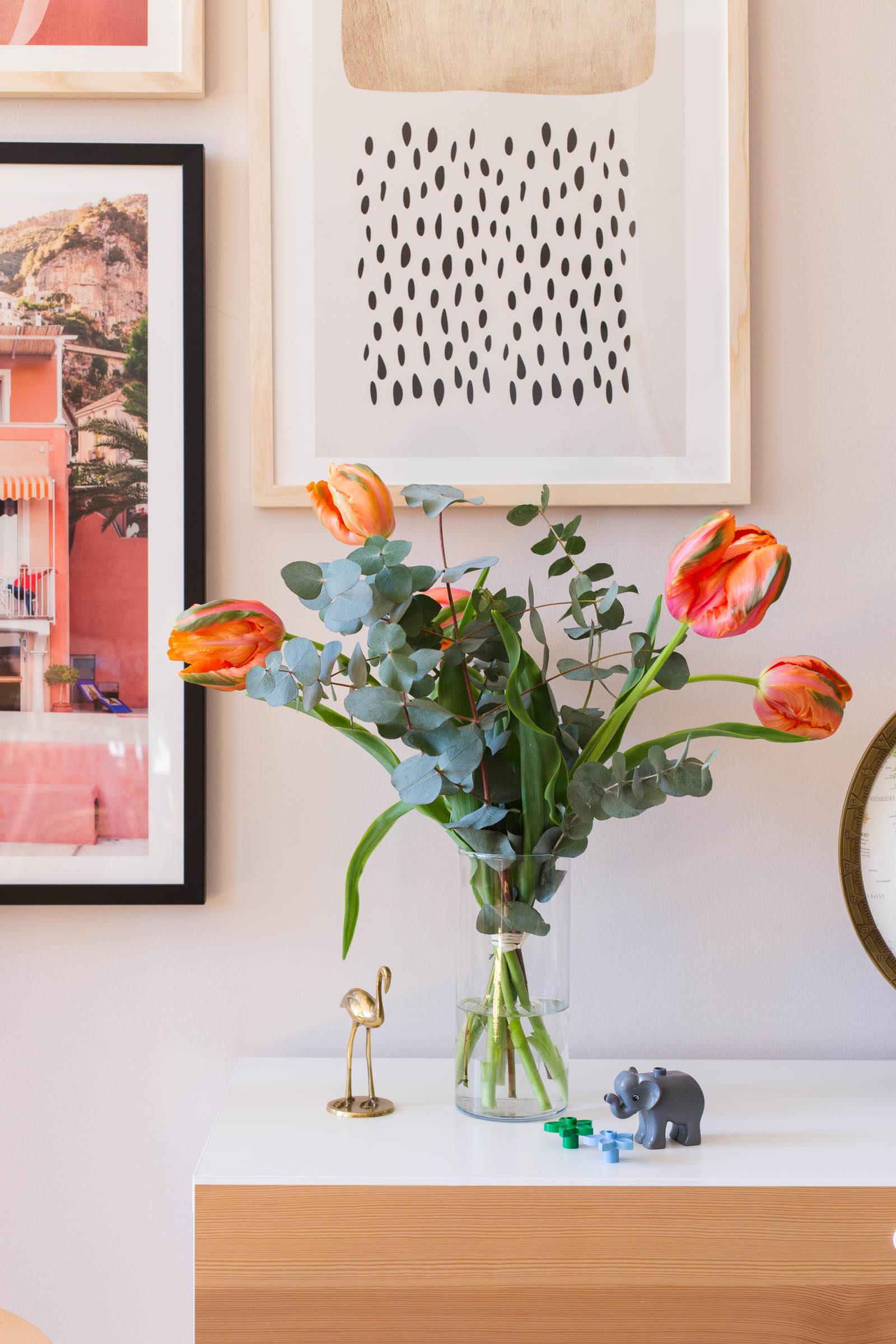 Tulpaner vardagsrum - Dnilva