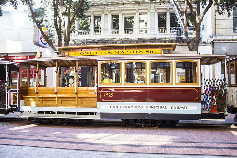 krok upp barer i San Francisco