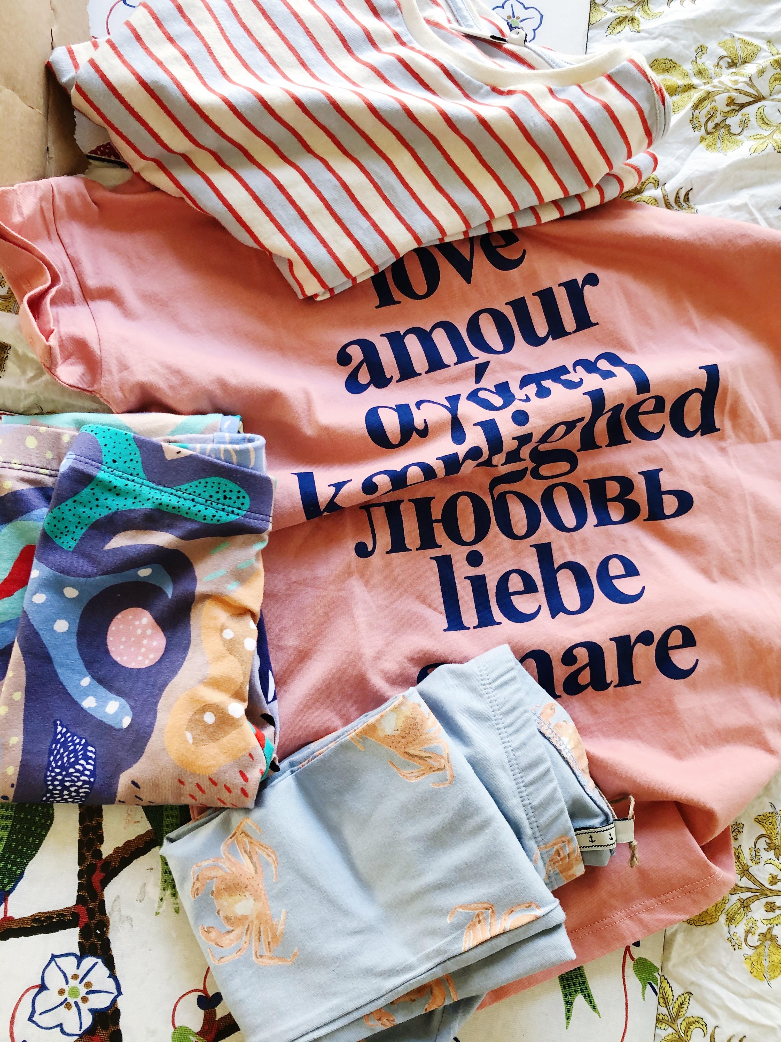 Barnkläder från blaou blaou, Emma & Malena och MOLO från Babyshop