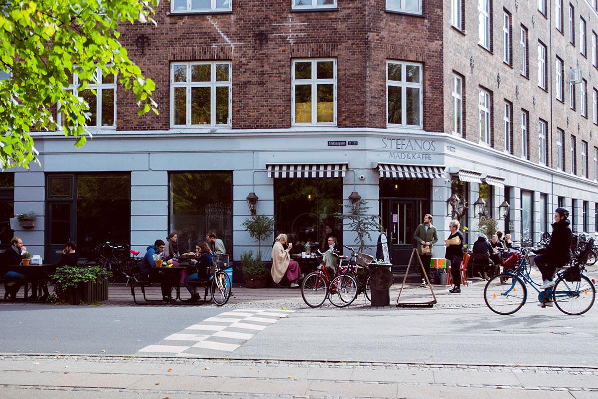 En lördag i Nørrebro i Köpenhamn
