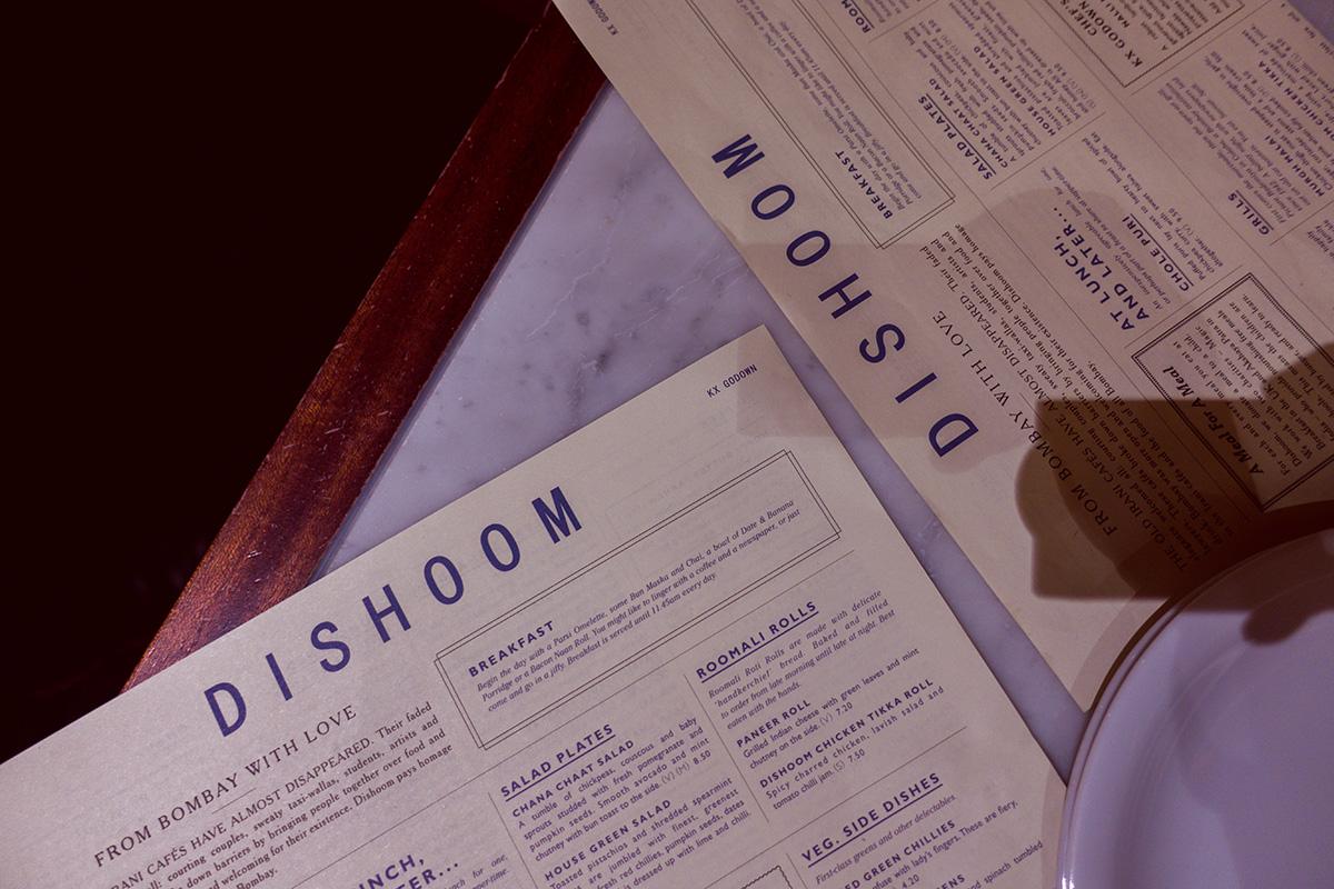 Dishoom - trendigt indiskt i London